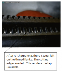 tap-wear-after-sharpening